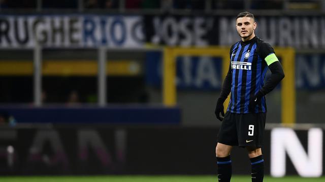 Bintang Inter Milan, Mauro Icardi. (AFP/Marco Bertorello)