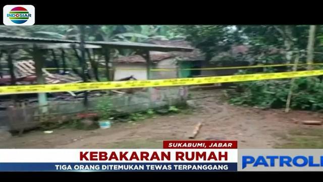Guna kepentingan penyelidikan, ketiga korban langsung dibawa ke Rumah Sakit Umum Daerah Sekarwangi, Sukabumi.