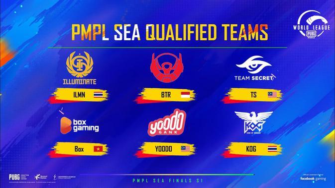 Tim lolos ke PUBG MOBILE World League 2020 East. (Doc: PUBG Mobile)