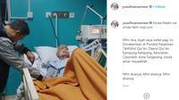 Ustaz Yusuf Mansur mengabarkan ayahandanya telah wafat melalui instagram. (Dokumentasi: Akun Instgram Yusuf Mansur)