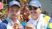 PT Bank Rakyat Indonesia, Tbk (BRI) turut serta memeriahkan prosesi kirab obor atau torch relay Asian Games 2018 yang pada hari Selasa (24/7) berada di pulau dewata Bali.