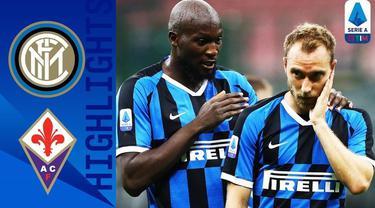 Berita Video Highlights Serie A, Inter Milan Gagal Salip Atalanta Usai Ditahan Imbang Fiorentina