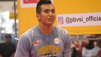 Pemain Surabaya Bhayangkara Samator, Randy Febriant Tamamilang, menyabet gelar pemain terbaik Proliga 2019. (Bola.com/Vincentius Atmaja)