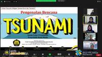Peserta Diklat Penyuluh Mitigasi Bencana Gempa Bumi dan Tsunami.