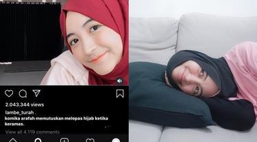 6 Video Kocak Arafah Rianti di Instagram, Recehnya Bikin Geleng Kepala