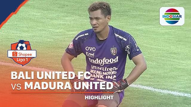 Berita video highlights Shopee Liga 1 2020 antara Bali United melawan Madura United yang berakhir dengan skor 3-1 di Stadion Kapten I Wayan Dipta, Bali, Minggu (15/3/2020).