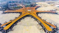 Daxing International Airport (sumber: Hufton + Crow)