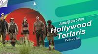 Jumanji dan 5 Film Hollywood Terlaris Pekan Ini.  (Digital Imaging: Nurman Abdul Hakim/Bintang.com)