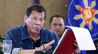 Filipina Lockdown Manila Imbas Virus Corona COVID-19