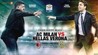 AC Milan vs Hellas Verona (Liputan6.com/Abdillah)