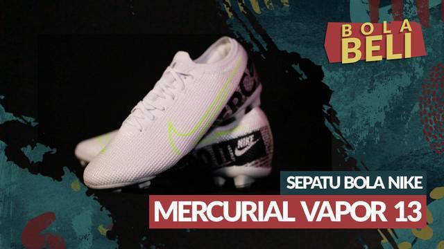 Berita video Bola Beli kali ini membahas kelebihan dan kekurangan dari sepatu sepak bola Nike Mercurial Vapor 13 360 Elite White.