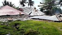 Kerusakan infrastruktur akibat gempa Ambon yang terjadi Kamis (26/9/2019) menyasar perumahan, fasilitas pendidikan, tempat peribadatan, perkantoran, dan fasilitas umum. (Dok Badan Nasional Penanggulangan Bencana/BNPB)