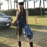 Nia Ramadhani di Coachella 2018 [foto: instagram/ramadhaniabakrie]