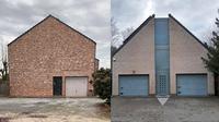 Rumah simpel tanpa jendela (Sumber: Instagram/uglybelgianhouses)