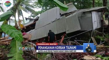 Pemprov Banten akan memperbaiki hunian warga yang menjadi korban tsunami Selat Sunda, dalam masa transisi darurat yang akan beralngsung hingga Maret mendatang.