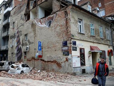 Terparah dalam 140 Tahun, Kroasia Diguncang Gempa Magnitudo 5,3
