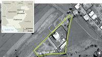 Foto angkasa tempat kediaman Osama bin Laden. (Sumber CIA/ranah publik)