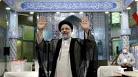 Ebrahim Raisi di pemilu Iran 2021. Dok: AP Photo/Ebrahim Noroozi