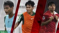 Trivia 3 Andalan Timnas Indonesia U-23 di Merlion Cup 2019 (Bola.com/Adreanus Titus)