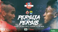 Shopee Liga 1 - Persija Jakarta Vs Persib Bandung - Riko Simanjuntak Vs Febri Hariyadi (Bola.com/Adreanus Titus)