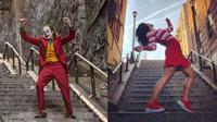 Jadi Wisata Dadakan, Ini 6 Tingkah Turis Saat Kunjungi Tangga 'Joker' (sumber: Boredpanda)