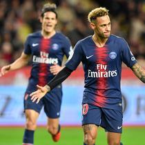 6. Neymar Jr (Paris Saint-Germain) - 5 gol dan 2 assist (AFP/Yann Coatsaliou)
