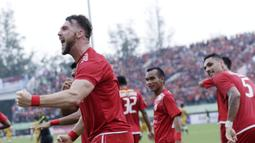 Marko Simic merupakan pemain sepakbola berposisi striker yang berasal dari Kroasia. (Bola.com/M Iqbal Ichsan)