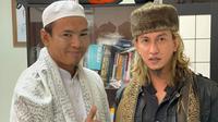 Dua warga binaan Lapas Gunung Sindur, Bogor, Ryan Jombang dan Bahar bin Smith berdamai. (foto: Ditjen Pas)