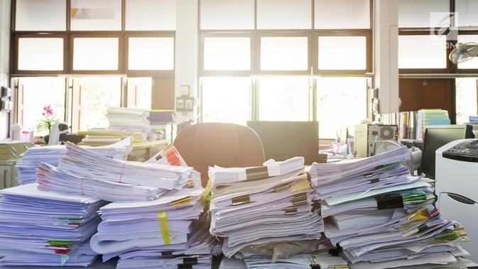 Ilustrasi Foto Berkas atau Dokumen. (iStockphoto)