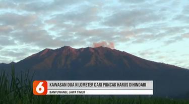 Pada Kamis, Gunung Raung masih menunjukkan peningkatan aktivitas vulkanik. Petugas Pos Pengamatan Gunung Raung di Desa Sumberarum, Songgon, Banyuwangi mencatat adanya semburan asap vulkanik dengan tinggi 100 hingga 200 meter. Masyarakat diminta tetap...