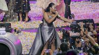 Maria juarai Indonesian Idol 2018 (Deki Prayoga/Bintang.com)