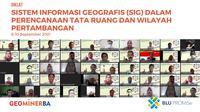 Acara penggelaran diklat SIG yang diikuti oleh 33 orang ASN secara daring selama 5 hari, Jumat (10/09/2021) (Foto: Siaran Pers).