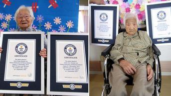Rekor Saudara Kembar Tertua Sedunia, Berusia 107 Tahun dari Jepang
