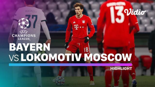 Berita video, Bayern Munchen menang atas Lokomotiv Moscow dan melangkah ke babak 16 besar Liga Champions