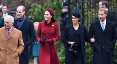 Gaya Kate Middleton dan Meghan Markle Saat Natal