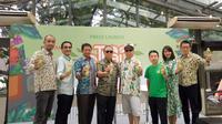 Acara peluncuran produk baru Ichitan Thai Milk Green Tea di kawasan Sudirman, Jakarta Selatan, Jumat (14/02/2020). (dok. Liputan6.com/Tri Ayu Lutfiani)