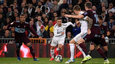 Real Madrid Ditahan Imbang Celta Vigo di Bernabeu