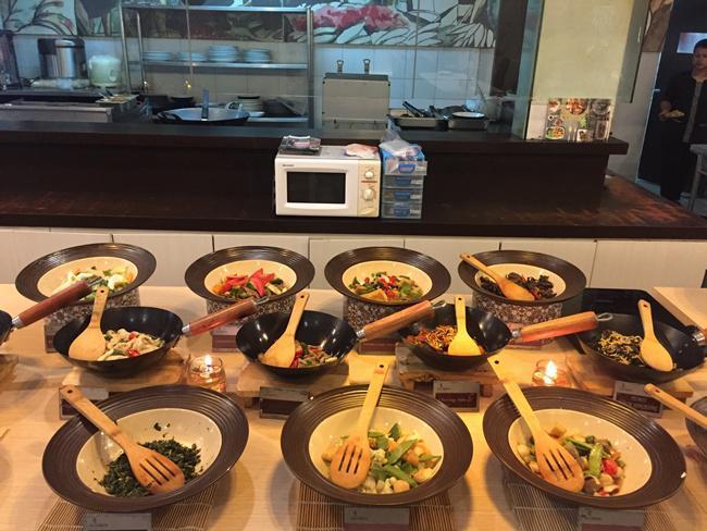 Beragam masakan nusantara di restoran Sambara/copyright vemale.com/Anisha SP