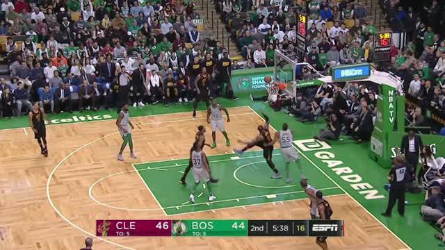 Berita video game recap NBA 2017-2018 antara Cleveland Cavaliers melawan Boston Celtics dengan skor 121-99.