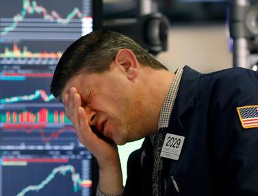 Wall Street Anjlok Setelah Virus Corona Jadi Pandemi
