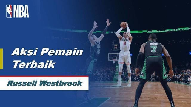 Berita Video Russell Westbrook Bawa Houston Rockets Menang Atas Boston Celtics 111-110