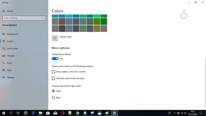 Cara Aktifkan Dark Mode di Windows 10. Liputan6.com/Mochamad Wahyu Hidayat