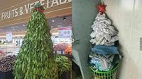Pohon Natal Low Budget (Sumber: 1cak)