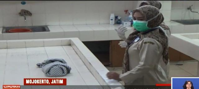 Petugas puskesmas menuturkan, bayi yang baru lahir itu dibawa sepasang pria dan wanita yang diduga sebagai orang tuanya ke Puskesmas Gayaman.
