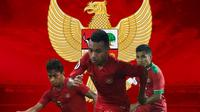 Timnas Indonesia - Osvaldo Haay, Todd Ferre, Asnawi Mangkualam (Bola.com/Adreanus Titus)
