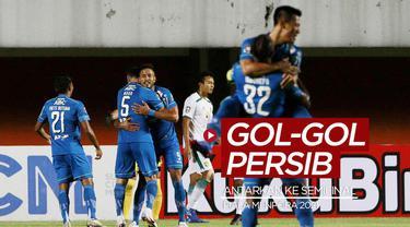 Berita video gol-gol yang mengantarkan Persib Bandung ke babak semifinal Piala Menpora 2021.