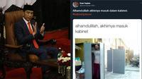 6 Meme Kocak Kabinet Jokowi ala Warganet Ini Bikin Ketawa Geli