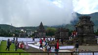 Kompleks Candi Arjuna, Dieng, Jawa Tengah. (Foto: Liputan6.com/Muhamad Ridlo)