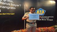 Wakil Gubernur DKI Jakarta Sandiaga Uno melaporkan SPT Pajak Tahunan. (Liputan6.com/Ilyas Istianur P)