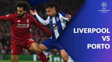 Berita video statistik perempat final Liga Champions 2018-2019 leg pertama. Liverpool bungkam Porto 2 gol tanpa balas, Rabu (10/4/2019) di Anfield, Liverpool.
